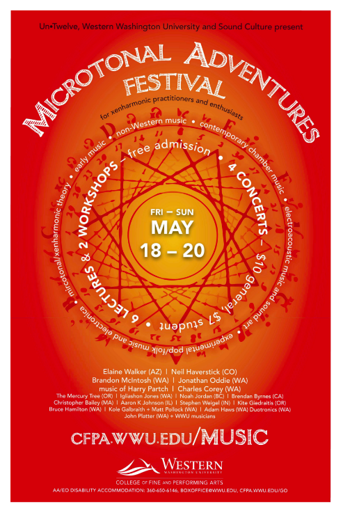 May 18th, 2018 – Fifth Inversion at Microtonal Adventures Festival