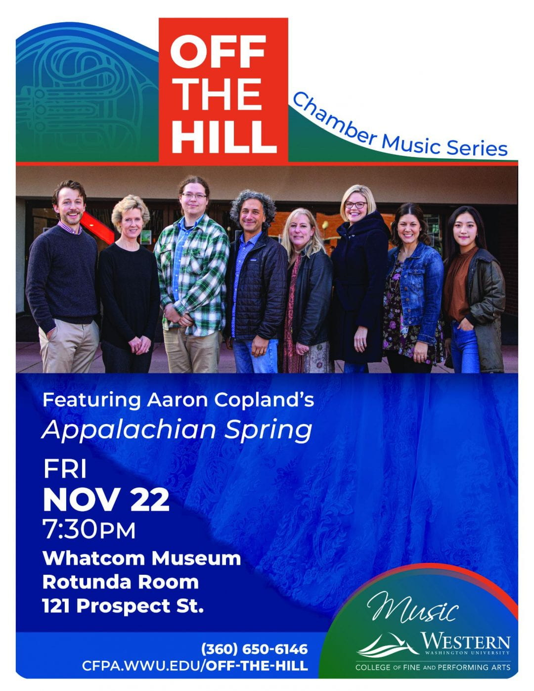 "Off the Hill Concert Series – Copland ""Appalachian Spring"""