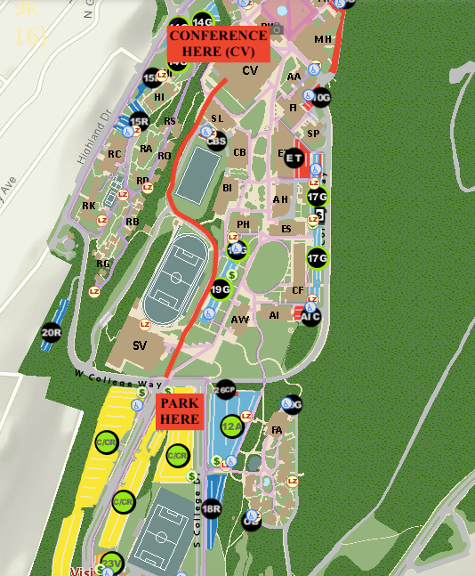 Wwu Parking Map Directions and Hotel
