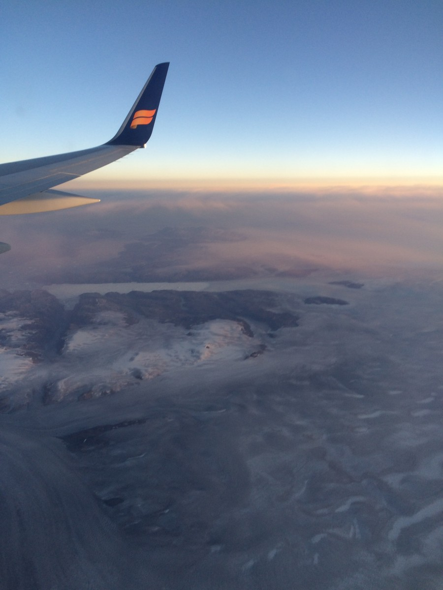 Going over greenland