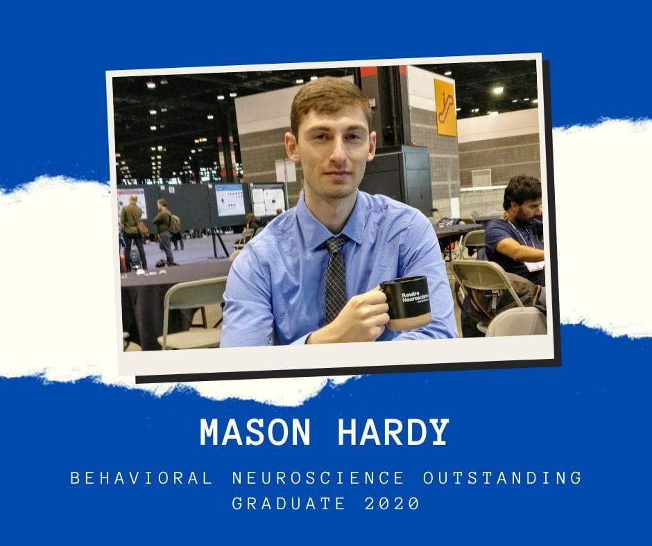 Profile Photo of Mason Hardy at SfN conference