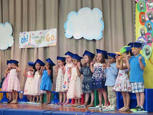 Congratulations to our Pre-K Mounties!