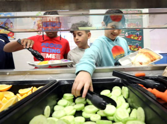 DARE Program Helps With School Lunch Debt