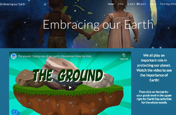 Elementary Site for Off-line Science Activities