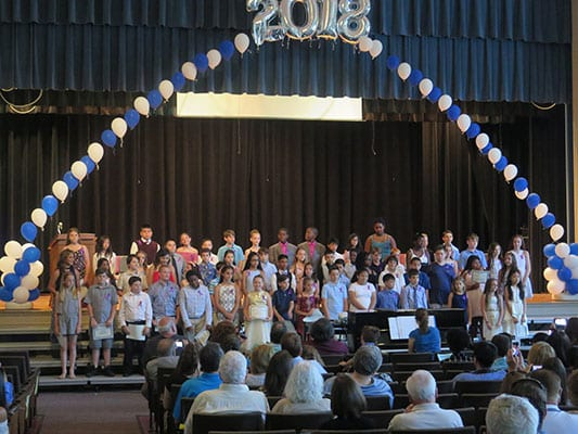 VES 5th-graders move up!