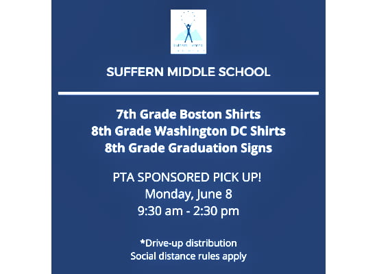 SMS PTA T-Shirt & Sign Pick-Up
