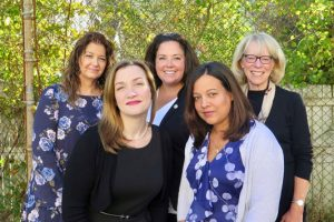 Pupil Personnel Services Team, Dr. Lisa Castaldo, Courtney Violetti, Sybil Jeffs, Taryn Rivera and Ellen Weiner