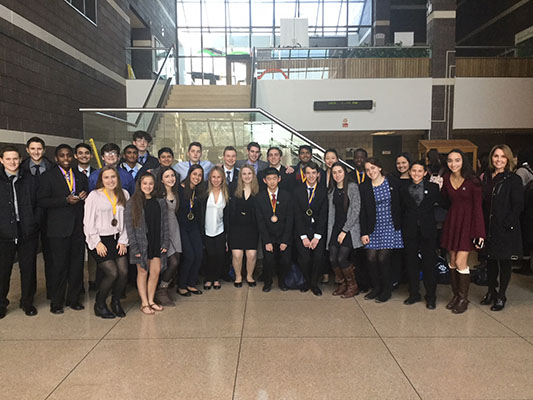 Suffern High School Students Win in Business