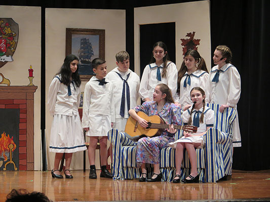 The (Suffern MS) Hills are Alive, with The Sound of Music