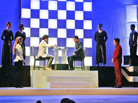 "SHS presents ""Chess the Musical"""