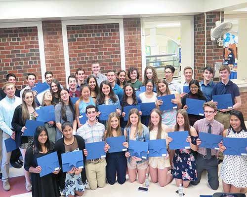SHS celebrates top ten percent
