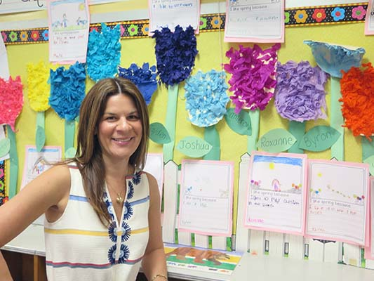 Kindergarten Teacher Tara Velto is this week's #MountieSuperstar