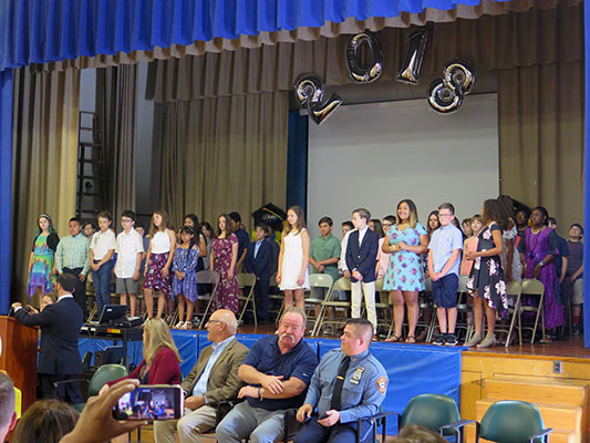SES 5th-graders moving up