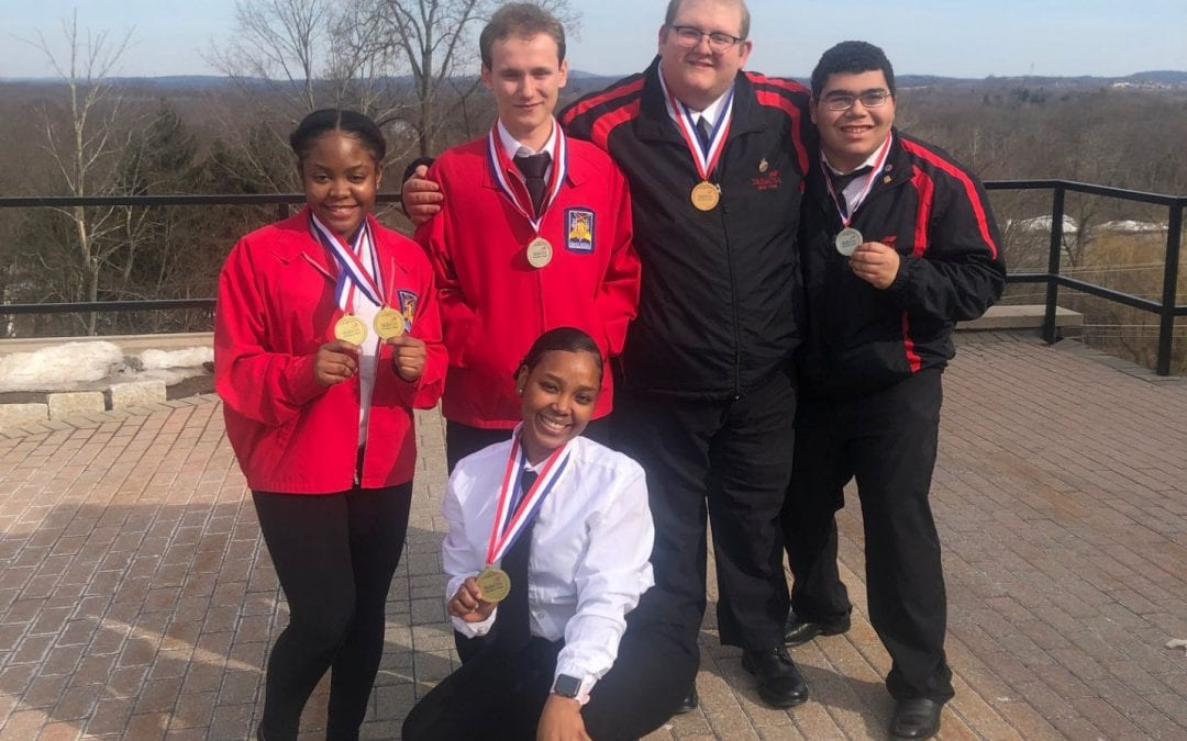 SHS CTEC Students Place First
