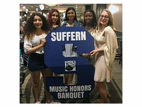Banquet celebrates SHS achievements in music