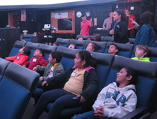 Visiting the Planetarium