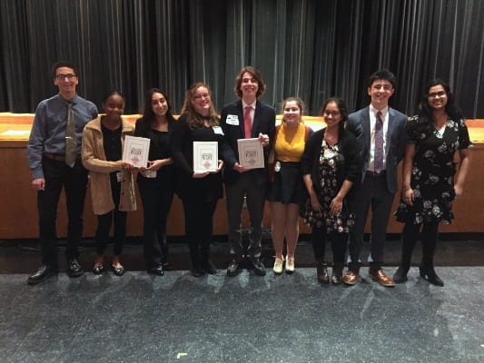 SHS Hosts Forensic League Speech Competition