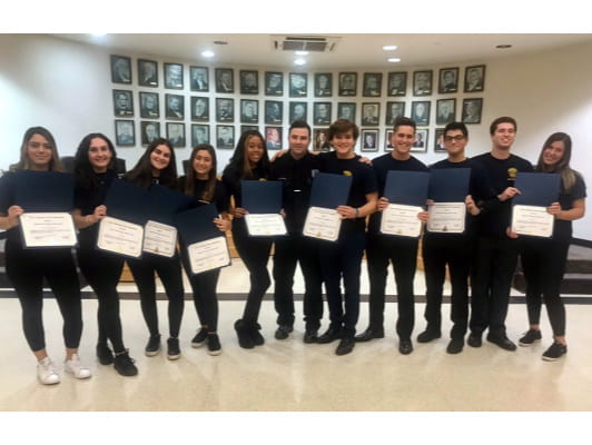 SHS Students Graduate from Police Department Youth Academy