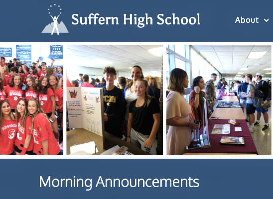 SHS Morning Announcements