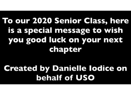 SHS USO Virtual Send-Off