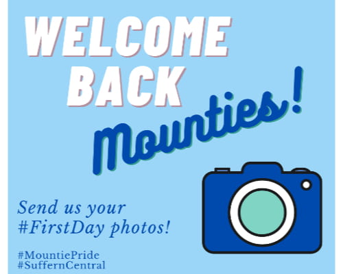 Welcome Back – Send Us a Photo!