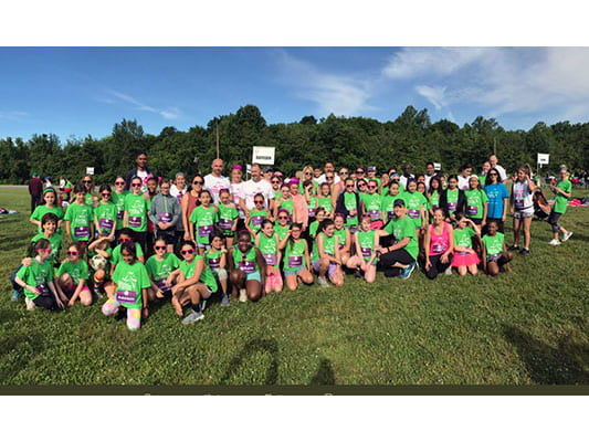 Girls on the Run compete in 5K