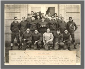 Photograph of 1928 football team