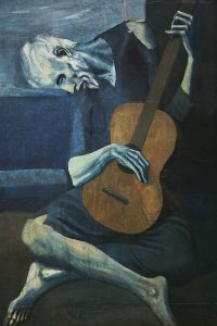 Picasso Guitar Player