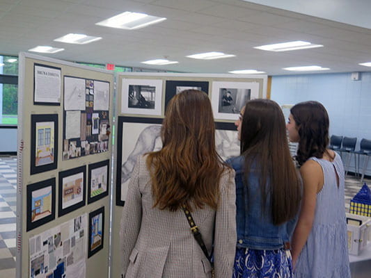 Senior showcase celebrates AP Studio artworks