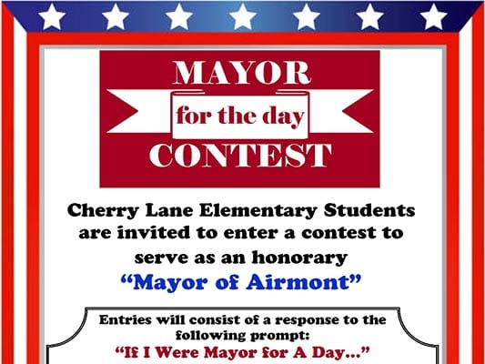 Mayor for the Day Poster & Essay Contest