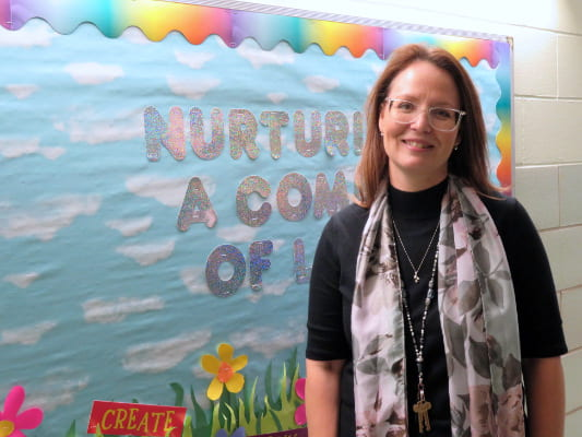 Recognizing Angela Aguilar During National Principals Month
