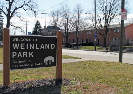 Some residents of the Weinland Park neighborhood rejuvenation are feeling adverse effects of the program and have been forced to move away. Credit: Thomas Bradley / Campus editor