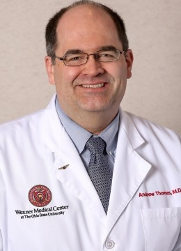 Dr. Andrew Thomas will be chief medical officer of the OSU Wexner Medical Center beginning July 1.