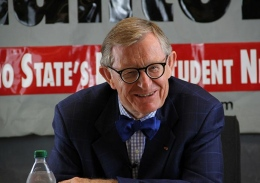 OSU President E. Gordon Gee in a Sept. 10 interview with The Lantern.