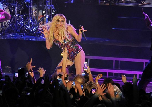 Ke$ha performed at the Lifestyle Communities Pavilion Aug. 27. Credit: Shelby Lum / Photo editor