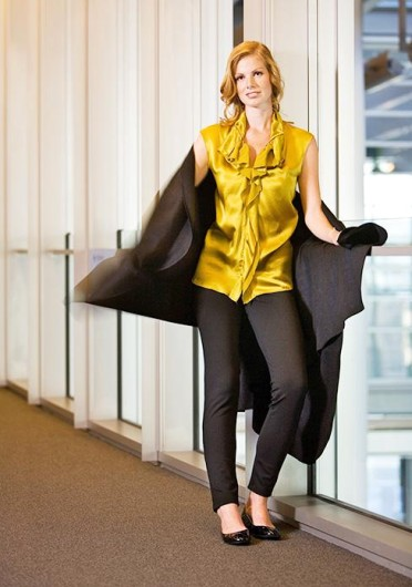 Classic black leggings can easily build a great outfit for any look. Credit: Courtesy of MCT