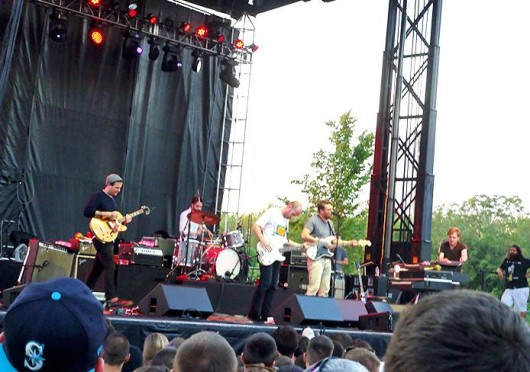 Cold War Kids performed at the CD102.5 Summerfest on Saturday. Credit: Nick Roll / Lantern reporter