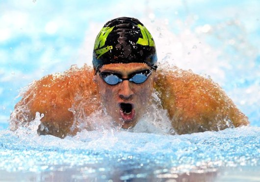 Ryan Lochte is set to visit campus at 7 p.m. on Sept. 5 in the Archie M. Griffin Grand Ballroom as part of the Ohio Union Activities Board event titled 'Winning Gold with Kerri Walsh-Jennings, Ryan Lochte and Aly Raisman.' Credit: Courtesy of MCT