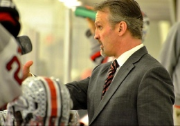 Courtesy of OSU Former Ohio State head coach Mark Osiecki has been hired by the Chicago Blackhawks.