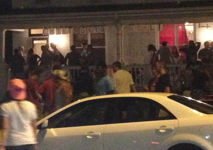 """""""Ratchitt,"""" a party on Chittenden Avenue Aug. 24, attracted thousands of partygoers and about 70 police officers. Credit: Ritika Shah / Asst. photo editor"""