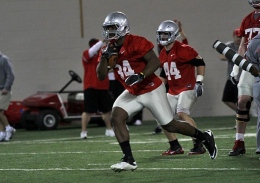 OSU senior running back Carlos Hyde has been suspended for at least the first three games of the 2013 season.