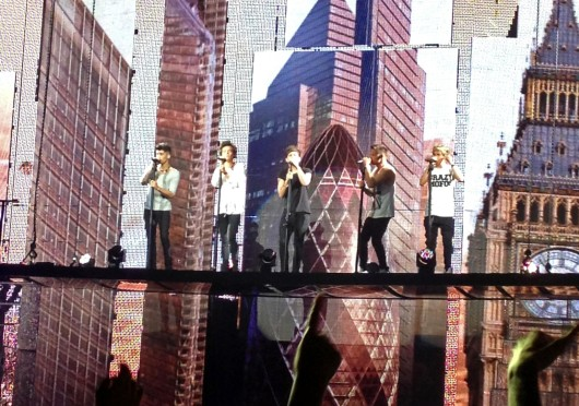One Direction performs a sold-out show in Columbus June 18. Credit: Kayla Byler / Managing editor for design