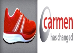 The new Carmen logo features a sneaker as an attempt to draw attention, said Valerie Rake, the Carmen support team leader for the Office of Distance Education and eLearning. Credit: Courtesy of OSU