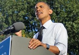 President Barack Obama speaks on The Oval on Oct. 9.