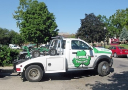 A lawsuit has been filed against Shamrock Towing Inc. and Camcar Inc. for allegedly charging more than $90 for towing and $12 per day for storage, a rate regulated by Ohio law. Credit: Iliana Corfias / Lantern photographer