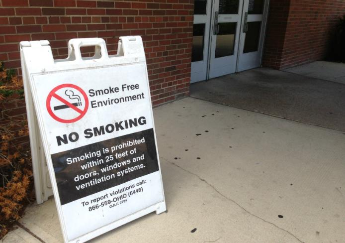 OSU spokesman Gary Lewis said the university's tobacco-free initiative will not be enforced until January 2014. Credit: Kristen Mitchell / Editor-in-chief