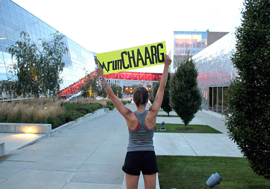 At the involvement fair Aug. 18, OSU CHAARG kicked off the recruitment promotion and social media campaign designed to gather runners across the country in an effort to run 1,000 miles