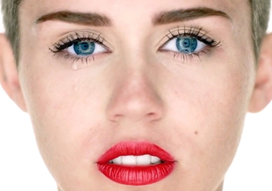 A scene from Miley Cyrus' music video for her song 'Wrecking Ball.' Credit: Courtesy of YouTube