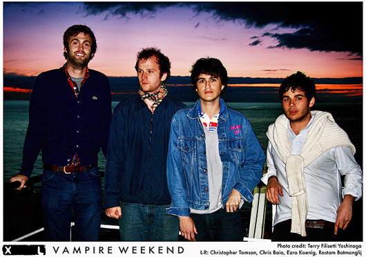 Vampire Weekend performed at the Lifestyle Communities Pavilion Sept. 23.  Credit: Courtesy of Facebook