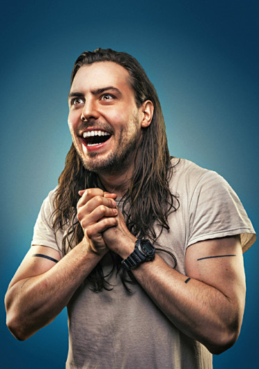 Artist and musician Andrew W.K. W.K. will perform at the A&R Music Bar Wednesday as part of his The Party Messiah tour.  Credit:  Courtesy of Jonathan Thorpe